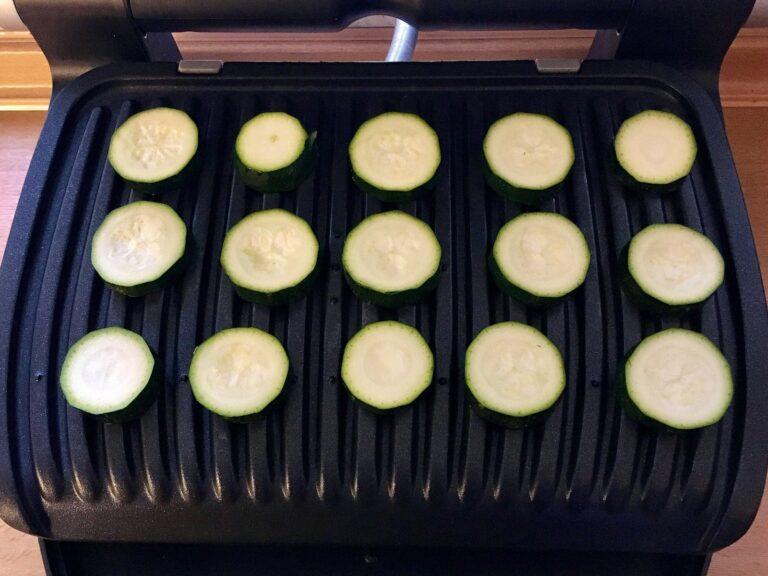 OptiGrill Rezept Zucchini grillen