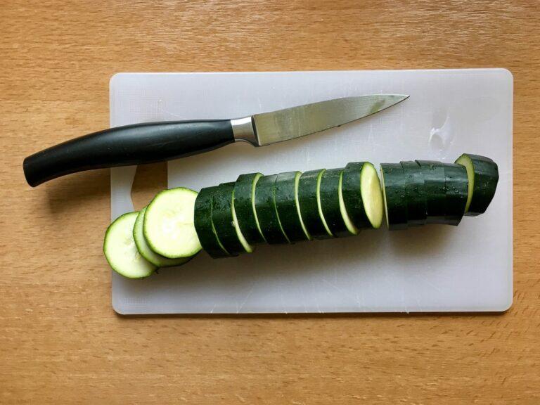 OptiGrill Rezept Zucchini schneiden