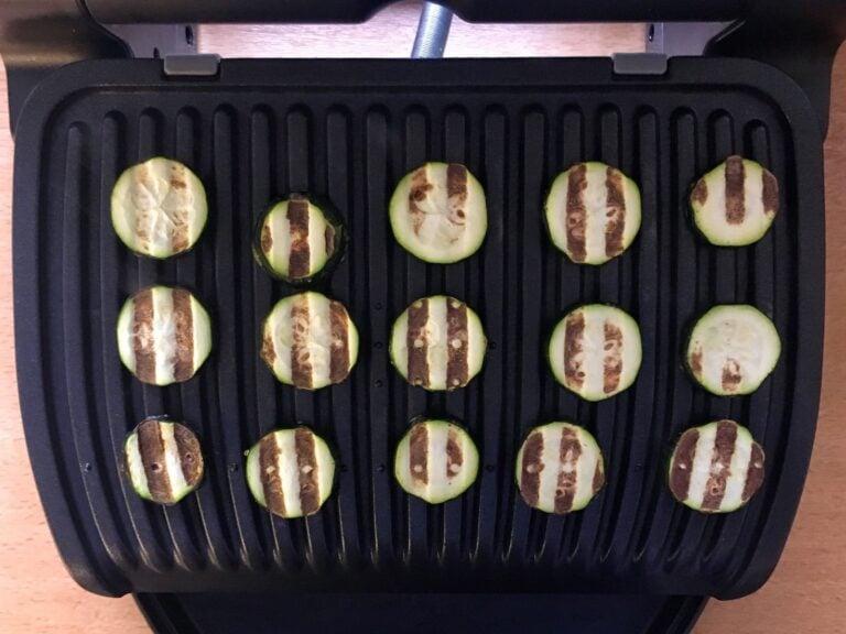 OptiGrill Rezept gegrillte Zucchini