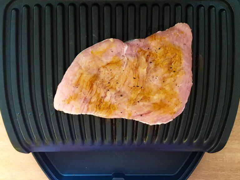 Putenbrust Schnitzel grillen OptiGrill