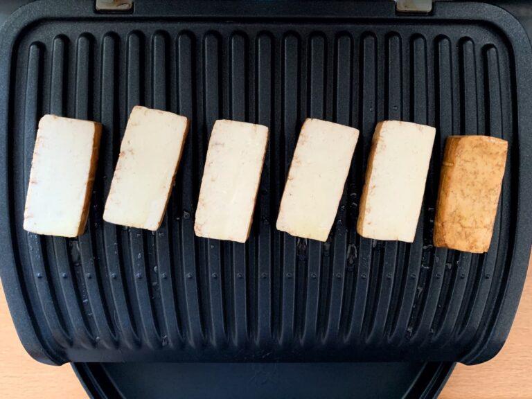 Tofu Kontaktgrill grillen