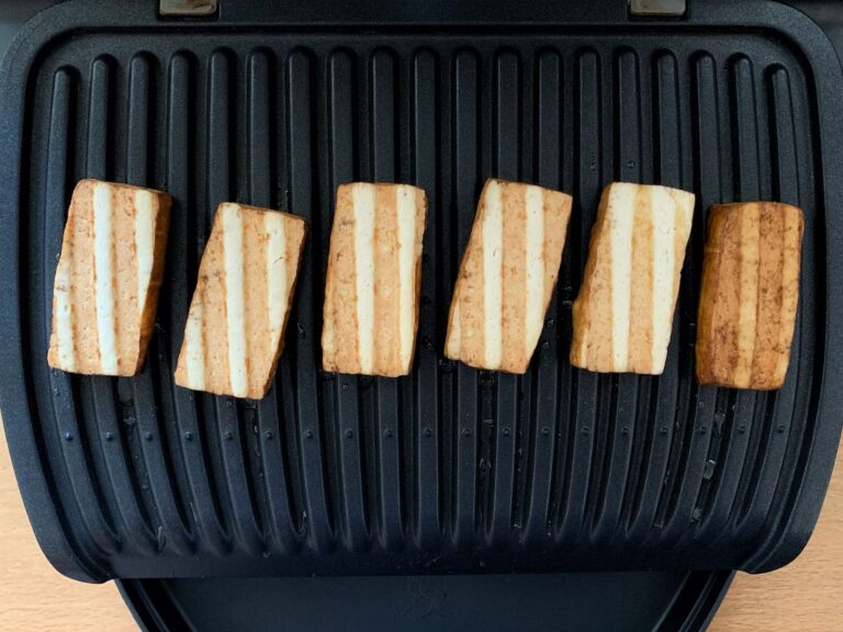 Tofu OptiGrill grillen