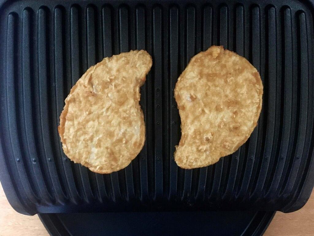 Vegetarische Steaks grillen