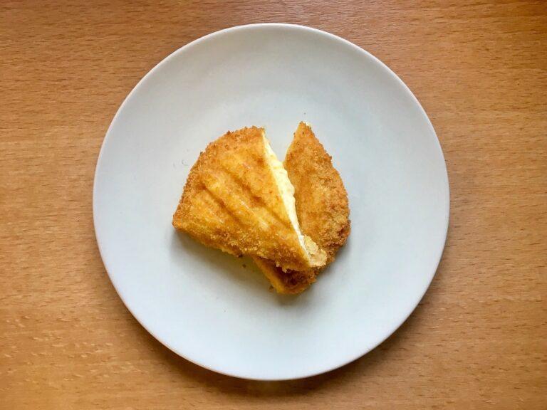 Vegetarisches Schnitzel Käse Kontaktgrill