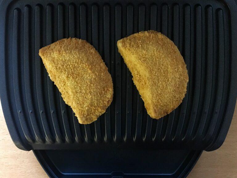 Vegetarisches Schnitzel Käse OptiGrill
