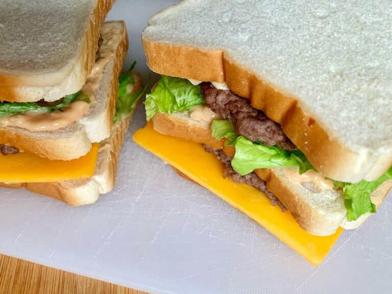 Zubereitetes Big Mac Sandwich