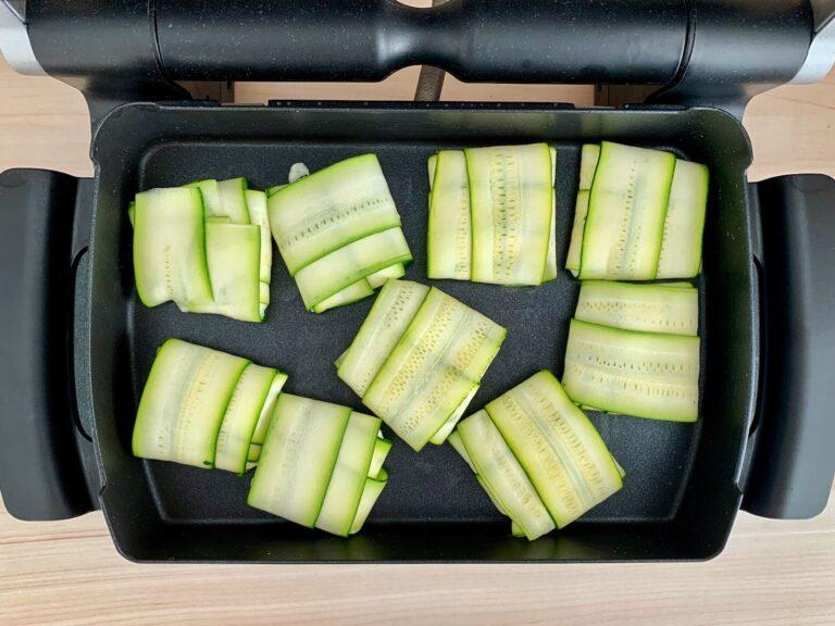 Zucchini Ravioli OptiGrill Backschale