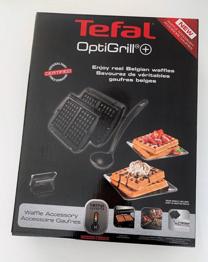Paket Tefal OptiGrill Waffeleisen
