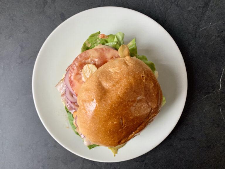 Kontaktgrill Rezept: Bacon Cheeseburger