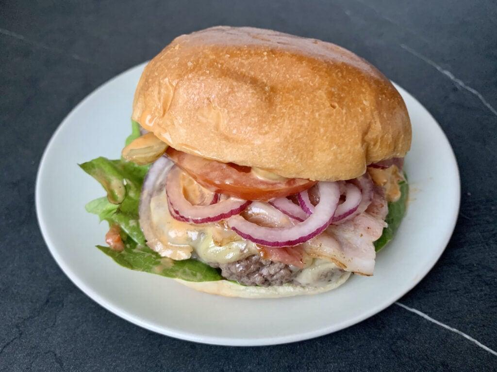 OptiGrill Rezept: Bacon Cheeseburger