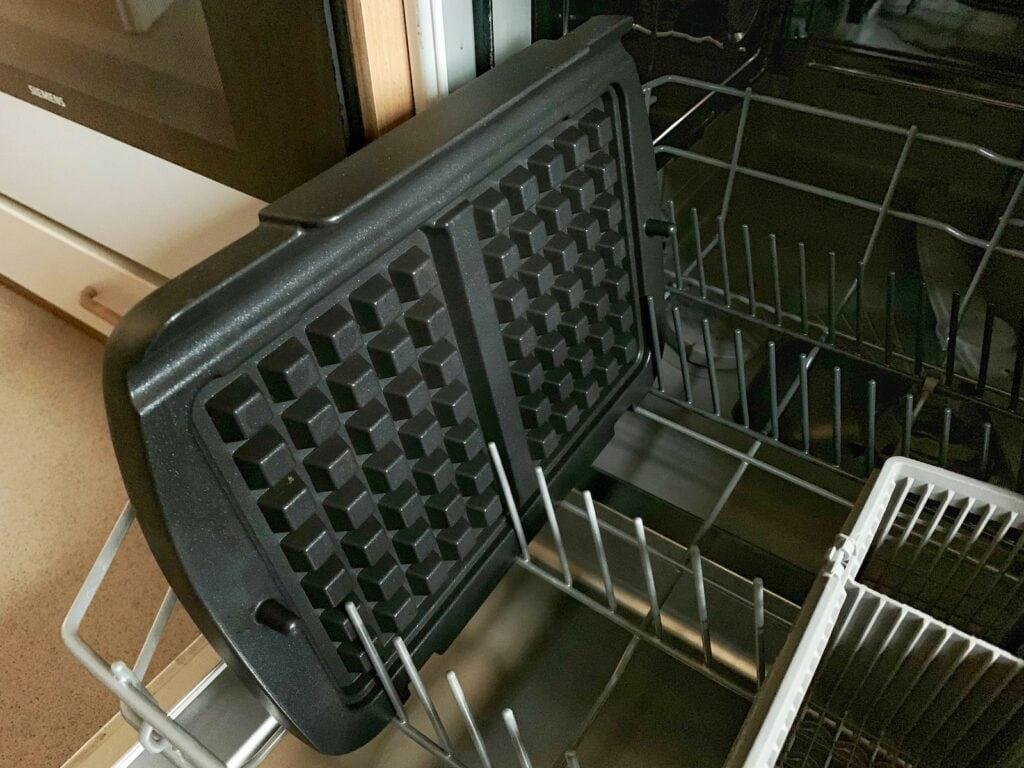 OptiGrill Waffelplatten in Spülmaschine reinigen