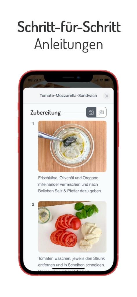 OptiWelt OptiGrill App Screen Galerie 2
